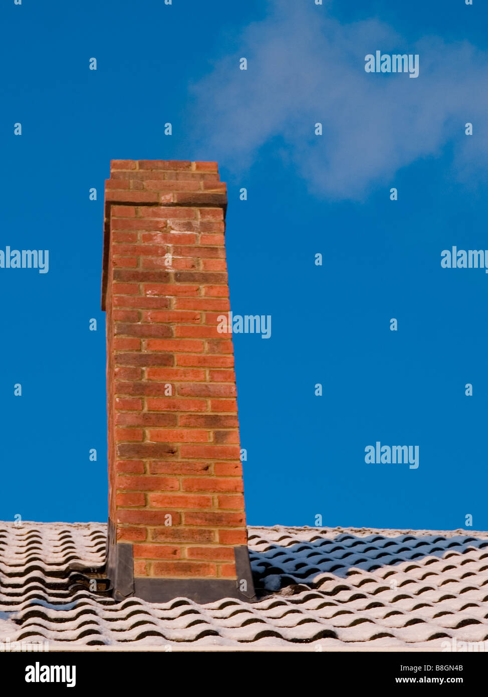 chimney stack - Stock Image