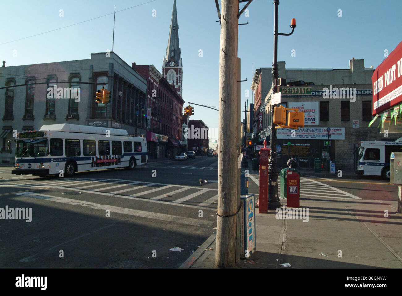 greenpoint, brooklyn, new york - Stock Image