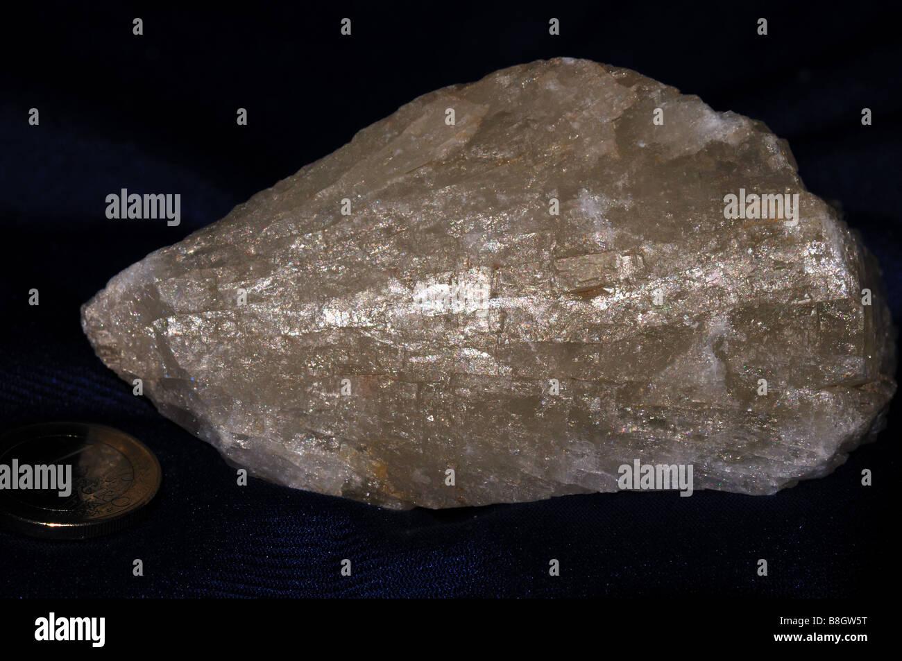 Barite crystal. - Stock Image