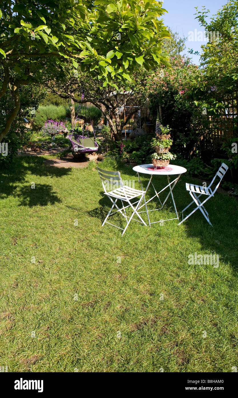 English garden - Stock Image