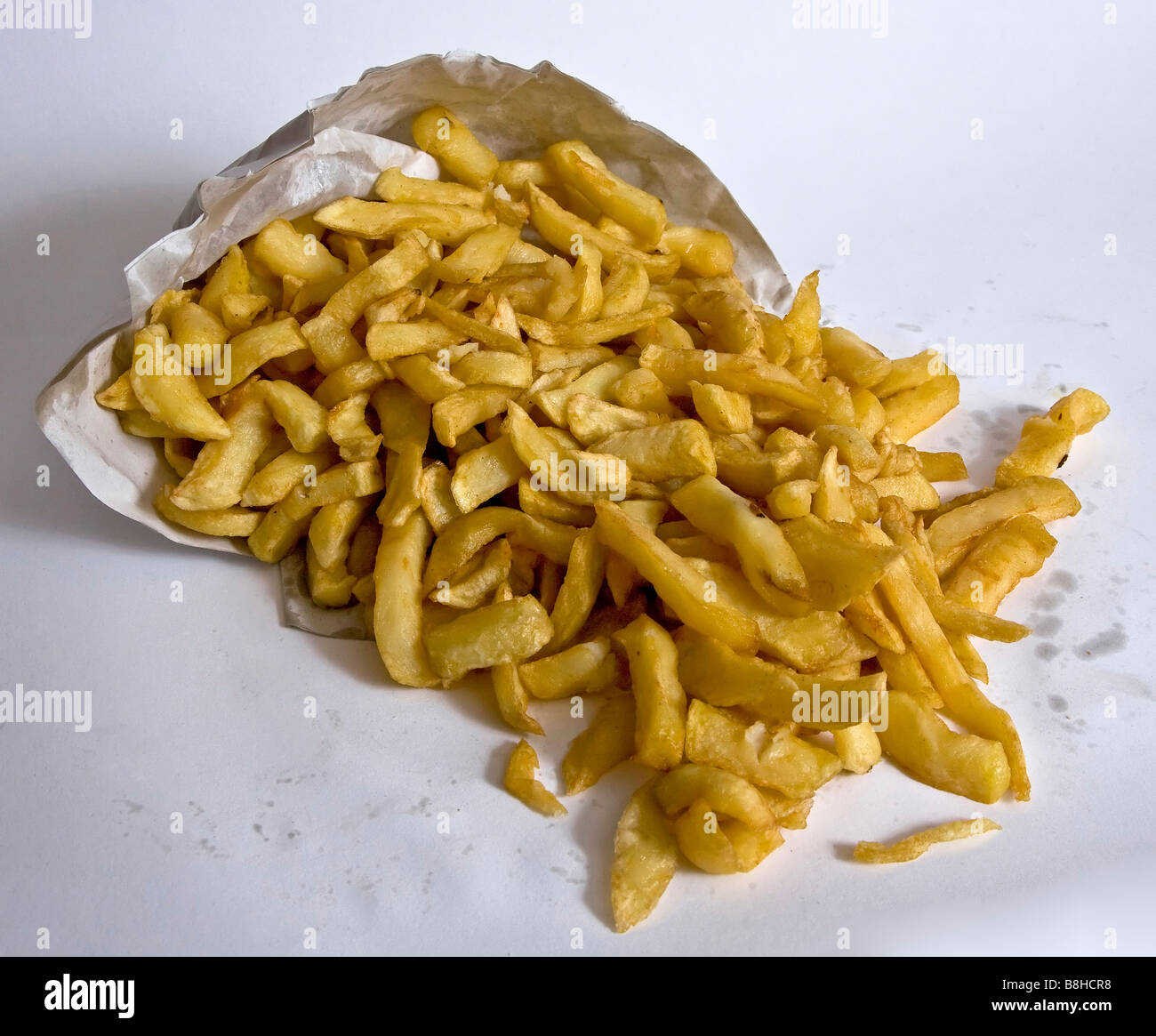 'junk food' chips 'bag of chips' - Stock Image