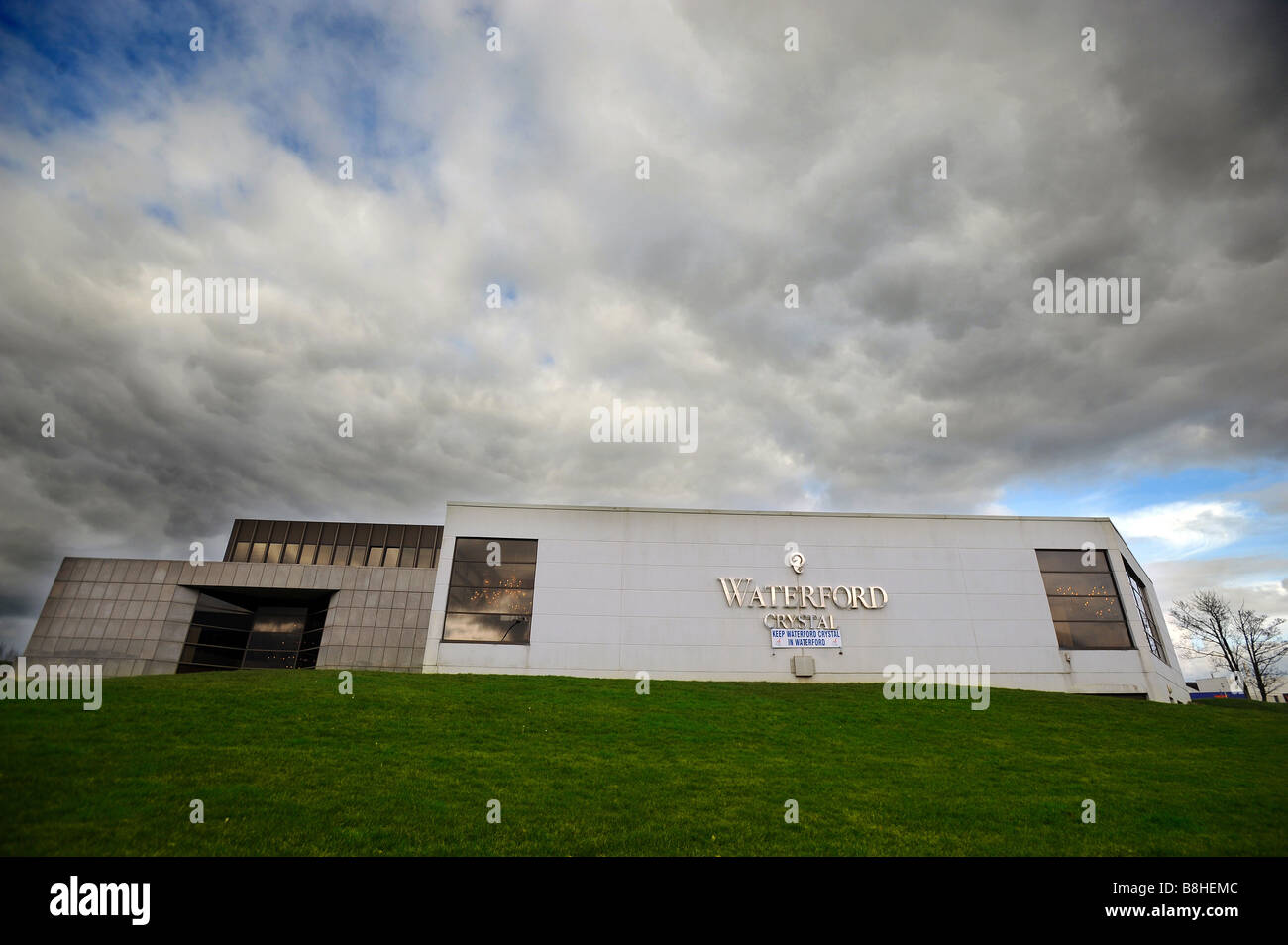The Waterford crystal factory in Waterford Ireland - Stock Image