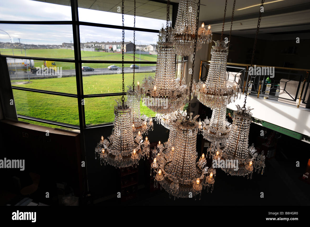 The Waterford crystal visitors centre in Waterford Ireland - Stock Image