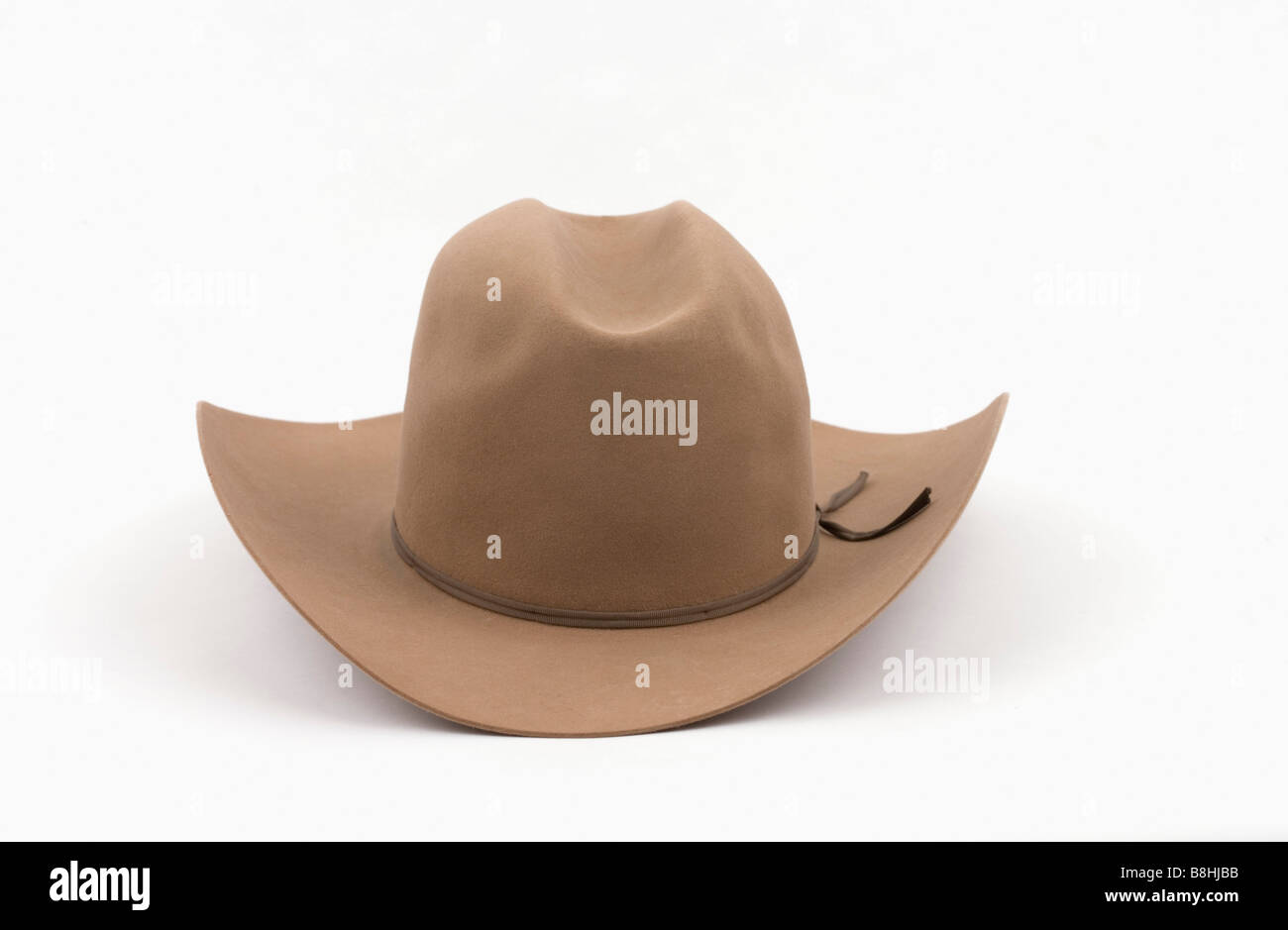 Cowboy hat in the studio. - Stock Image