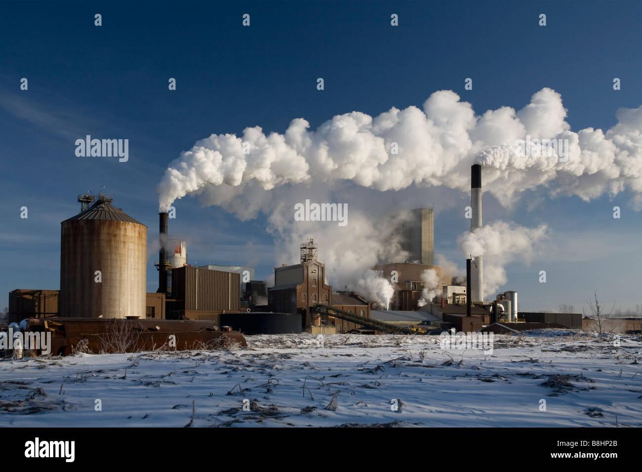 Sugar Refinery - Stock Image