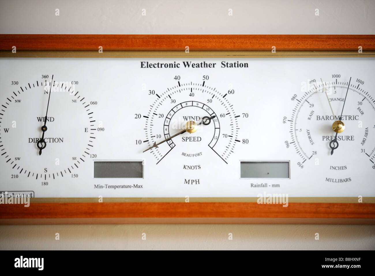 Barometric Pressure Stock Photos Images How To Build Electronic Torricelli Barometer An Weather Station Monitor In Energy Efficient Home Powered By A Wind Turbine And