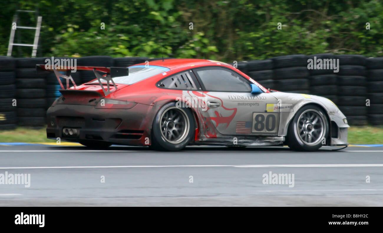 Porsche 911 Gt3 Rsr 997 Le Mans 24 Hour Race France Stock Photo Alamy