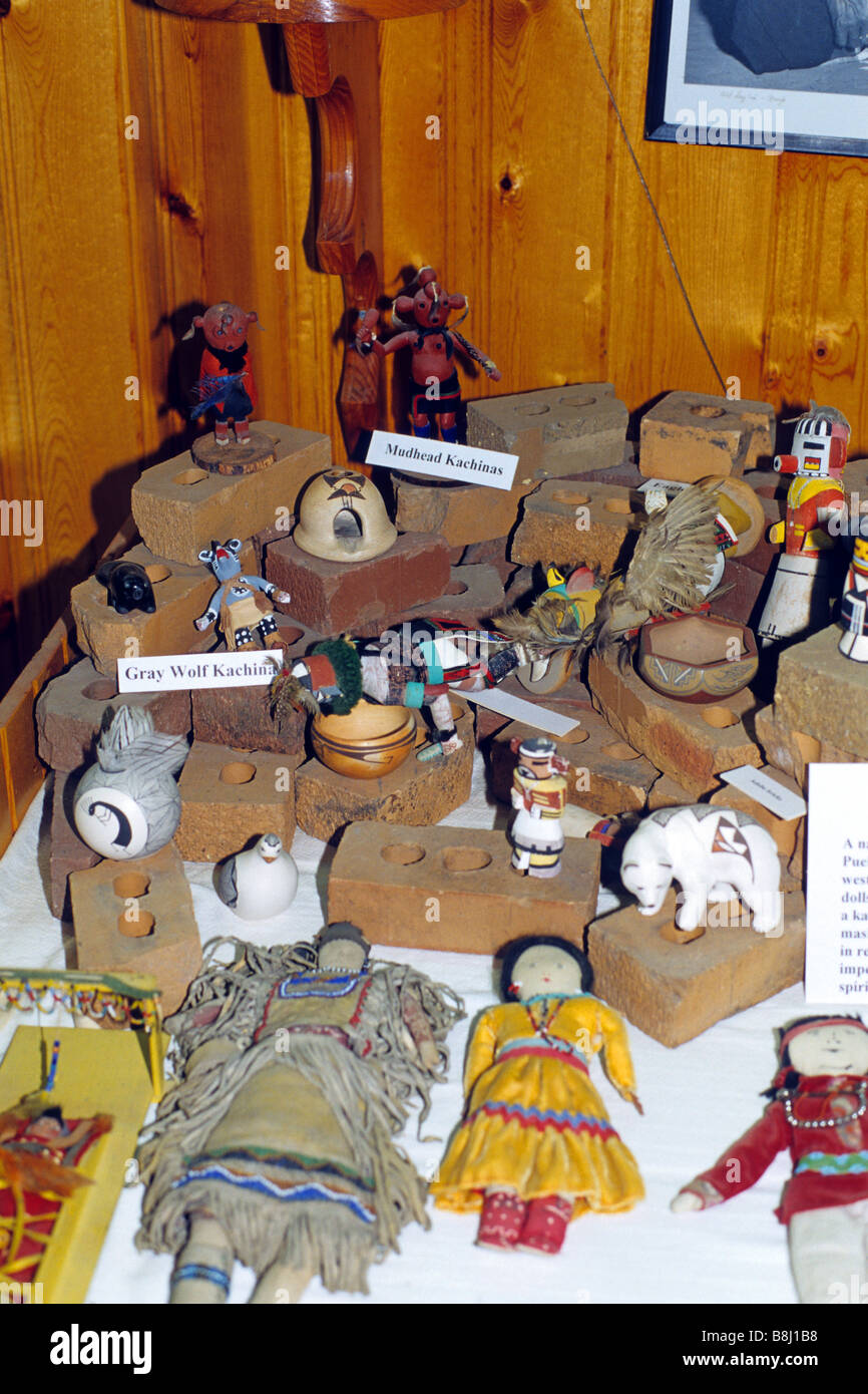 Artifacts In The Indian Museum Of North America At The Crazy Horse Stock Photo Alamy