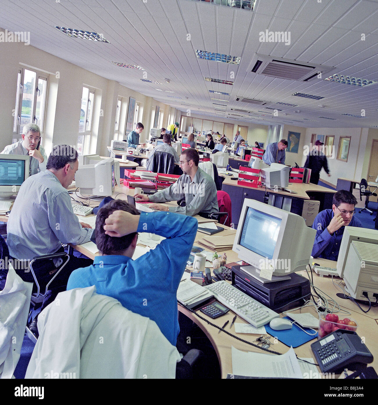 Busy open plan office space which may result in increased - Signe different open office ...