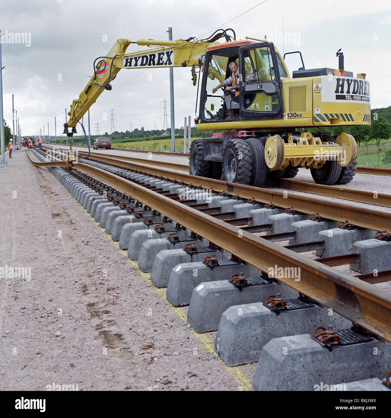 Welded Rail Stock Photos & Welded Rail Stock Images - Alamy