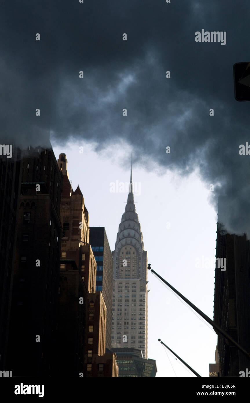 The Chrysler Building in New York - Stock Image