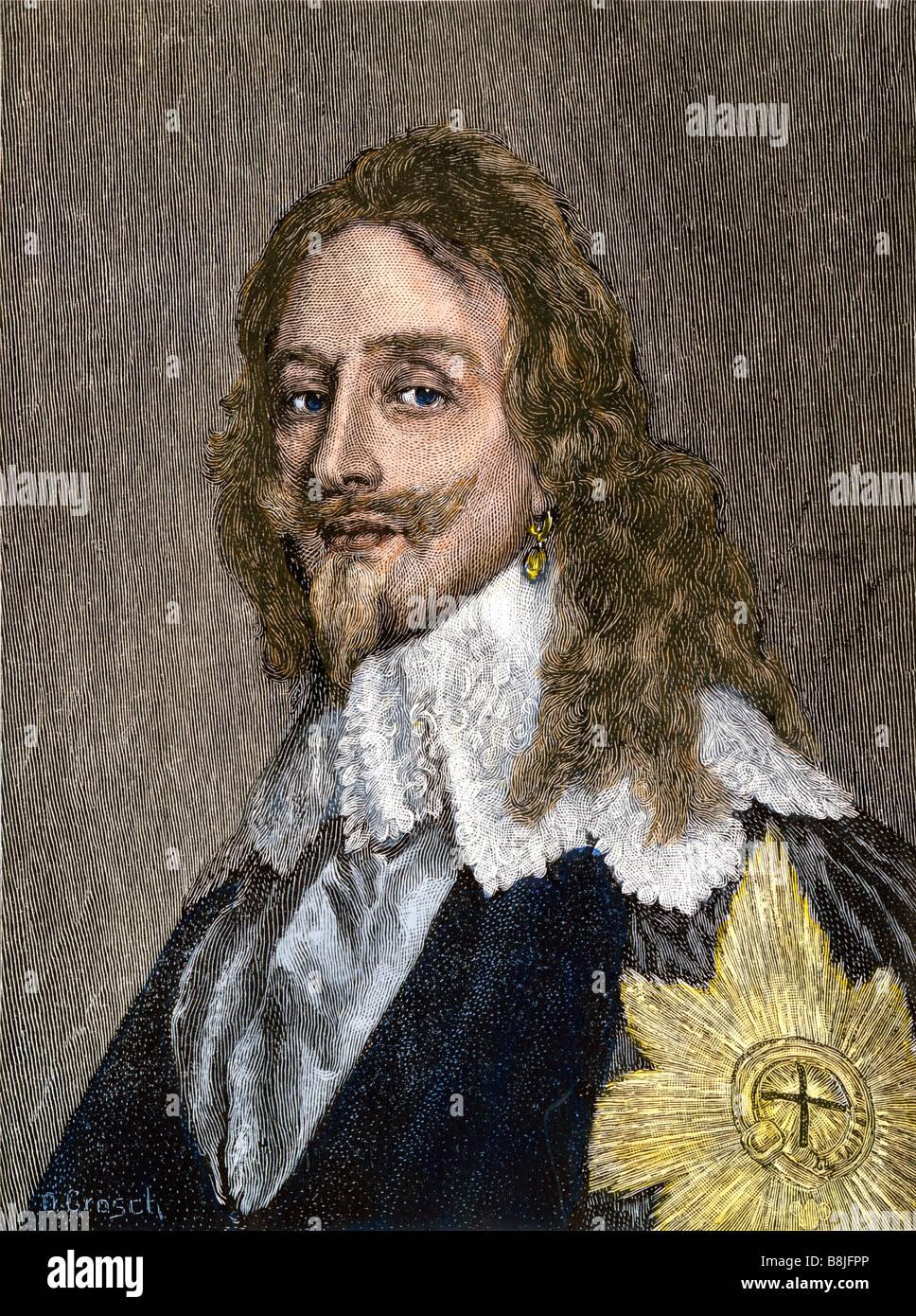 King Charles I of England - Stock Image
