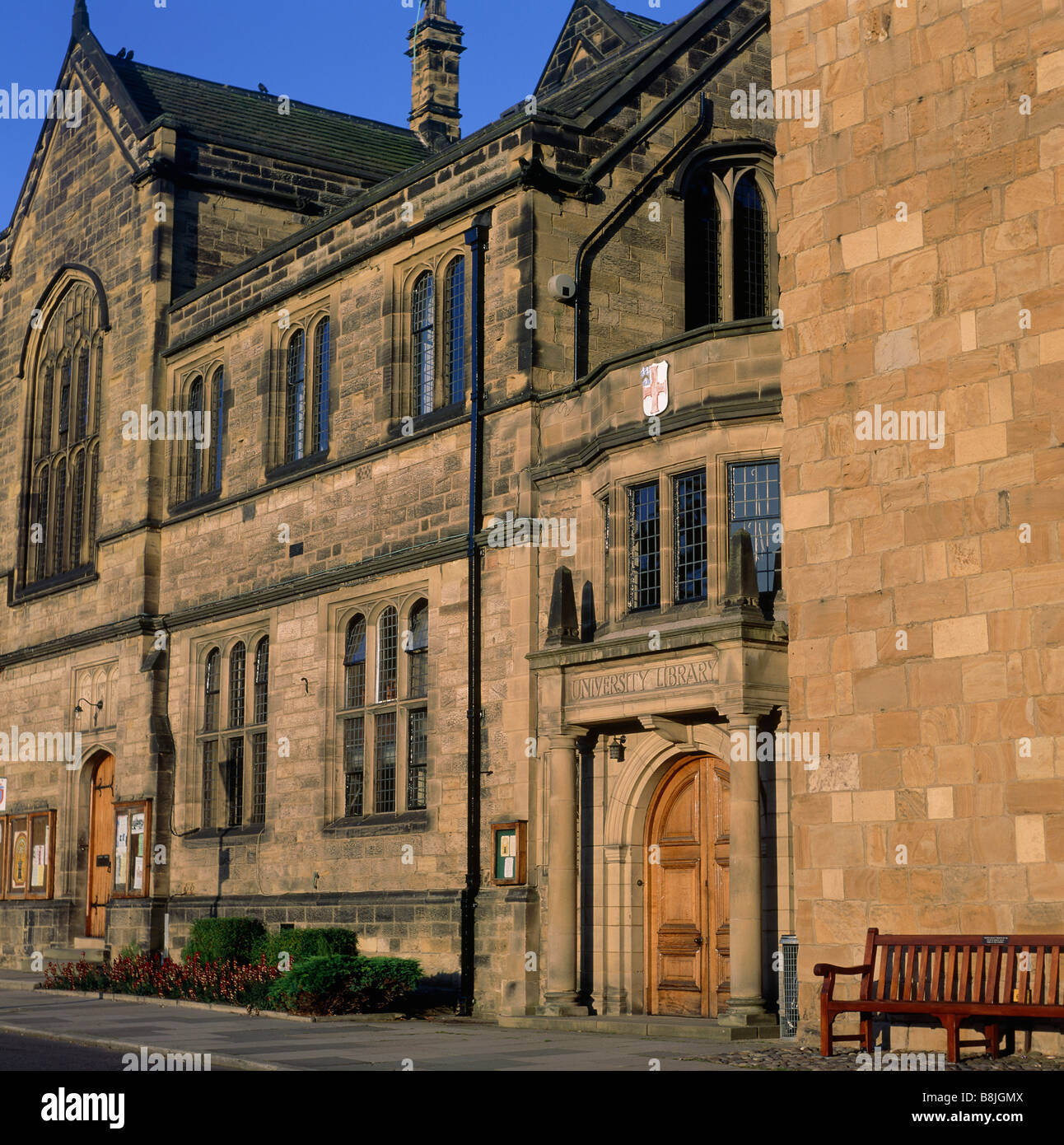University Library Palace Green Durham City County Durham England