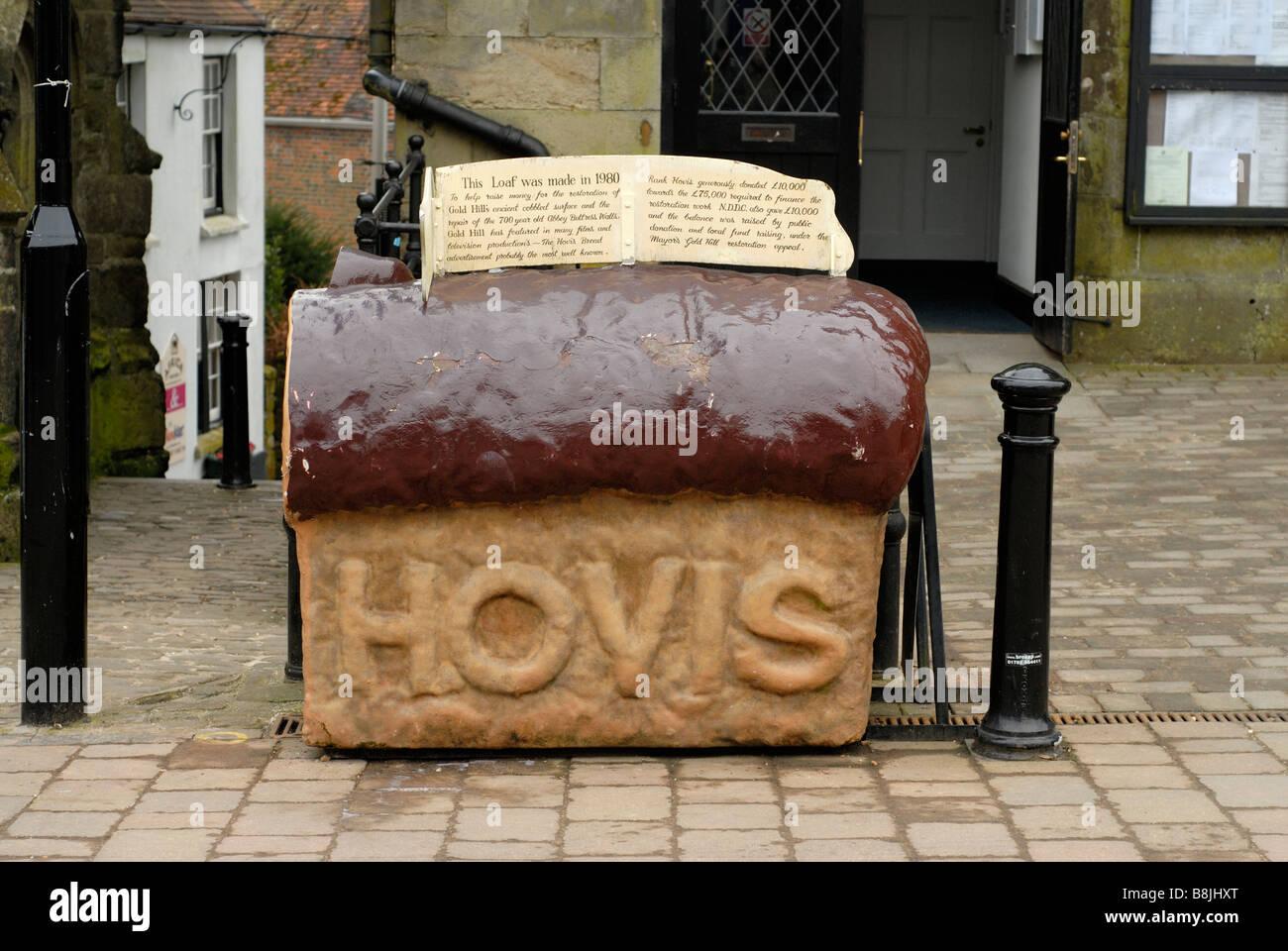 Giant Hovis Loaf model Shaftesbury - Stock Image