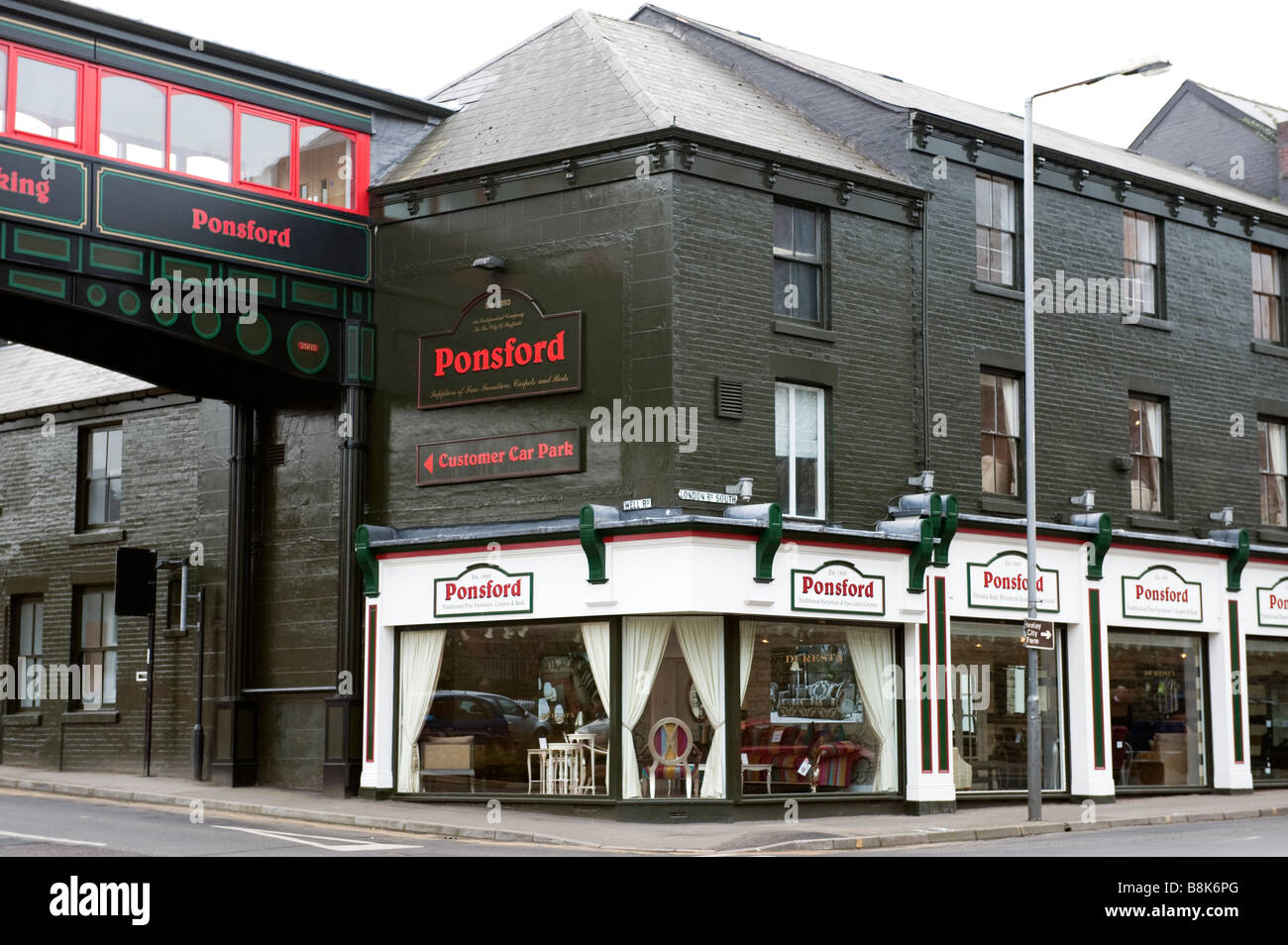 Ponsford Furniture Store In Sheffield