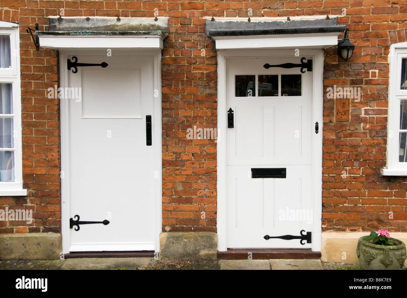 Two doors of cottages adjacent to each other Farnham Surrey UK - Stock & Surrey Doors Stock Photos u0026 Surrey Doors Stock Images - Alamy