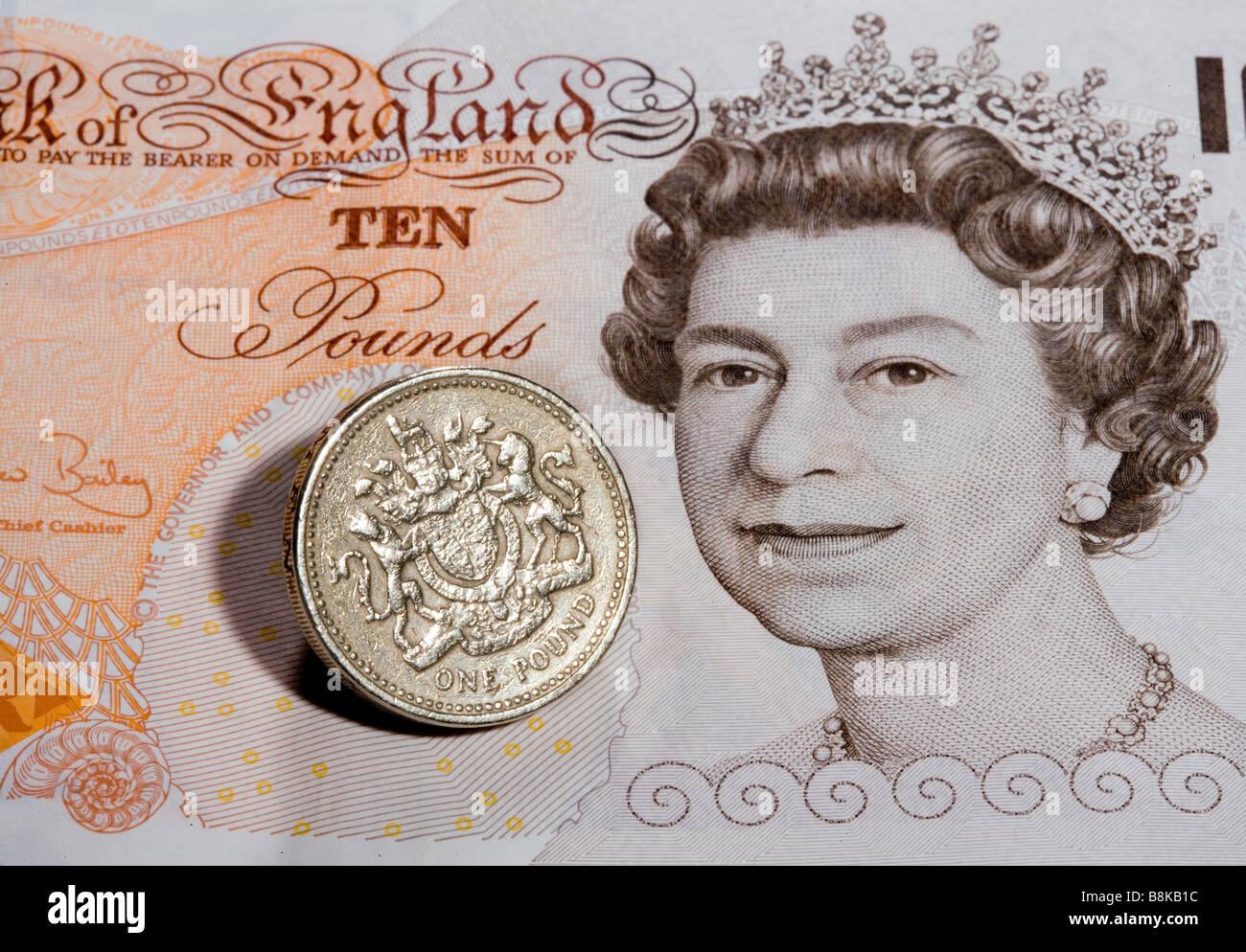British Pound - Stock Image