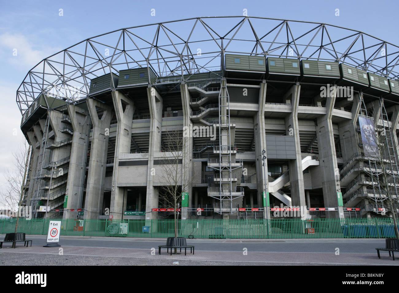Twickenham Stadium North Stand - Stock Image
