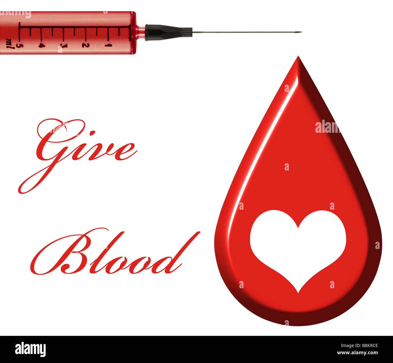 Give Blood - Stock Image