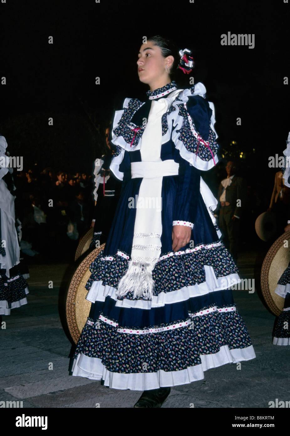 01e5bbcbf Good Friday procession at Plaza del Carmen during Semana Santa Holy Week at San  Luis Potosi