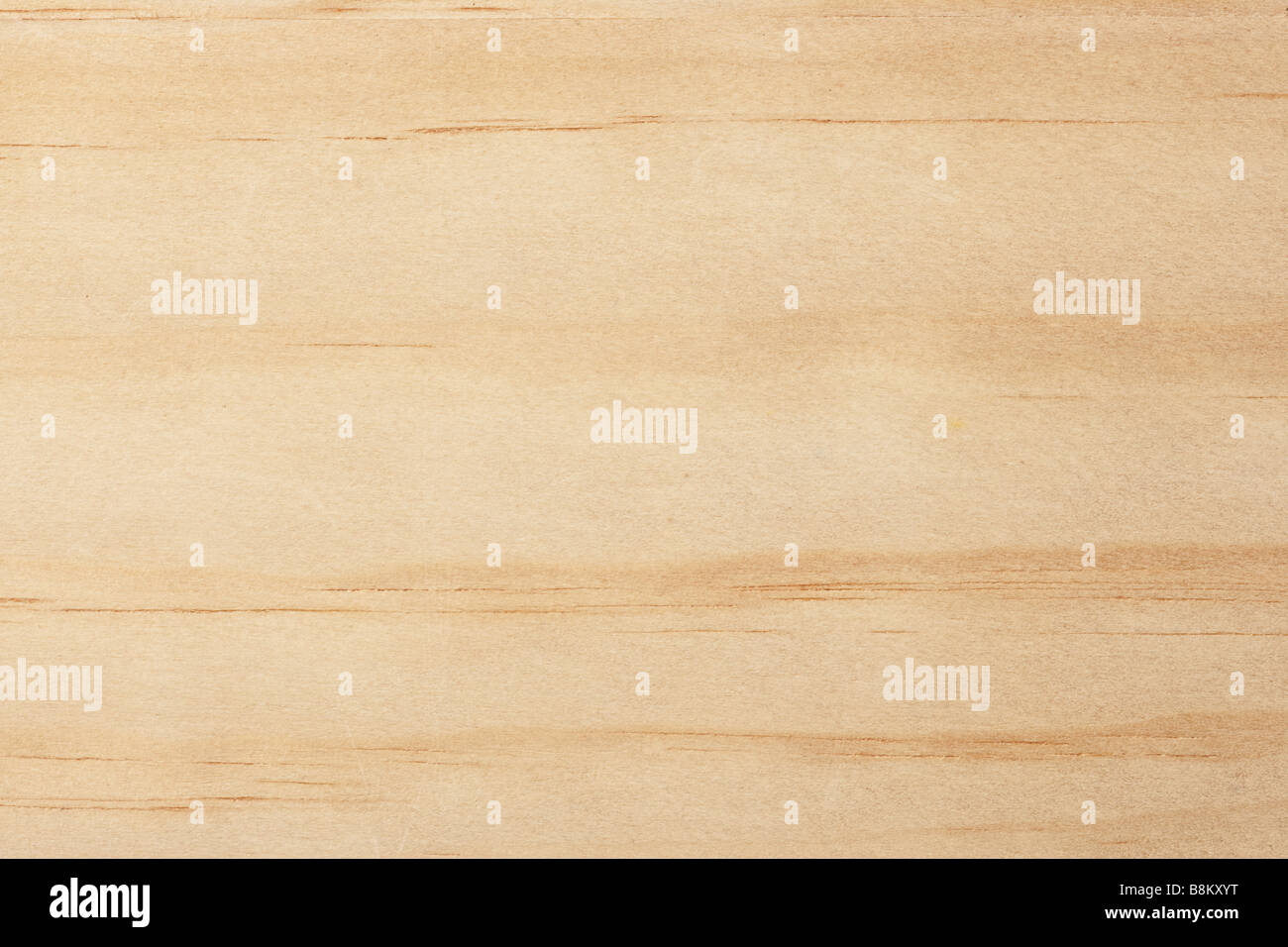 natural finish wood grained background - Stock Image