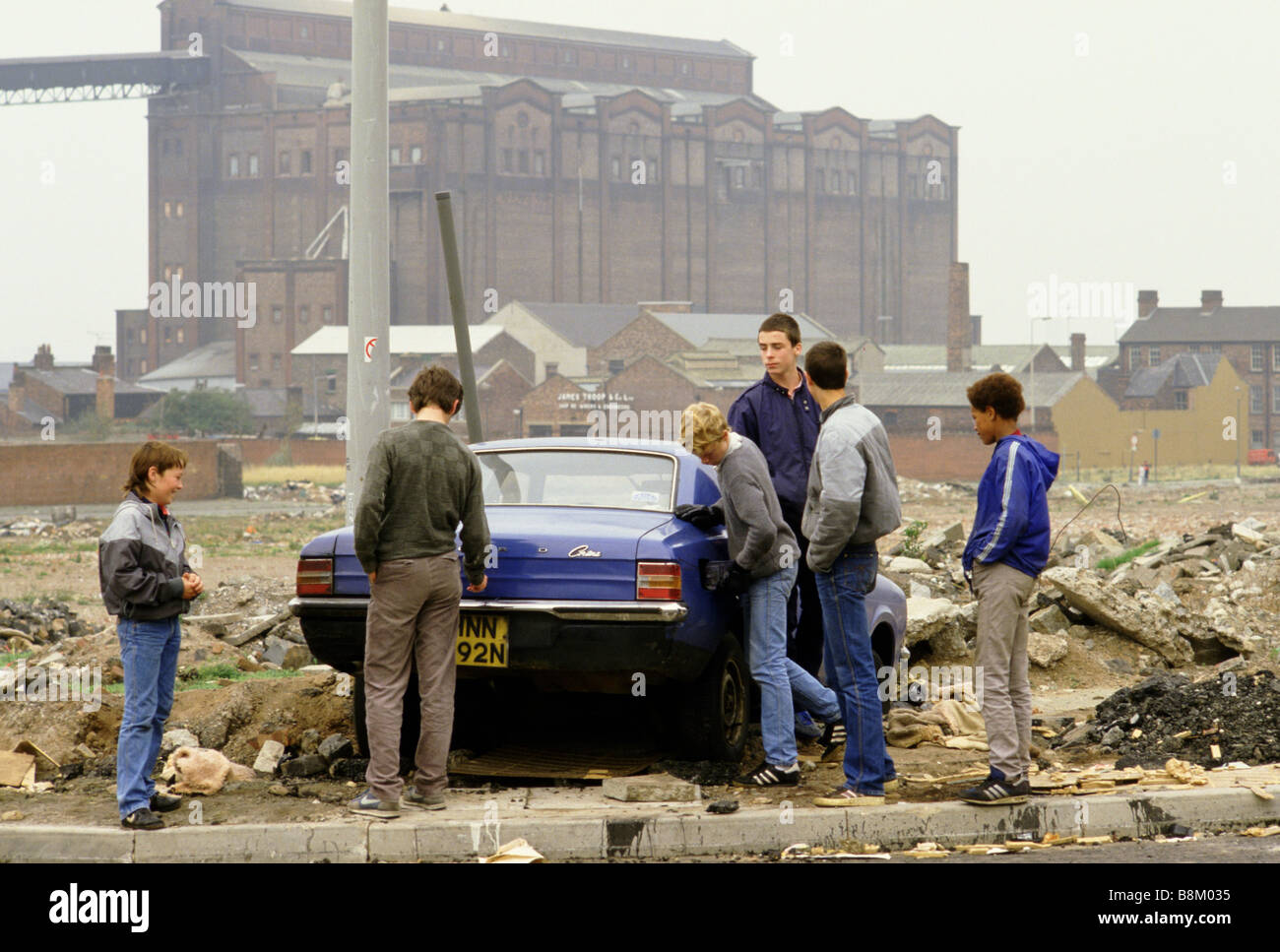 Toxteth Liverpool Crime
