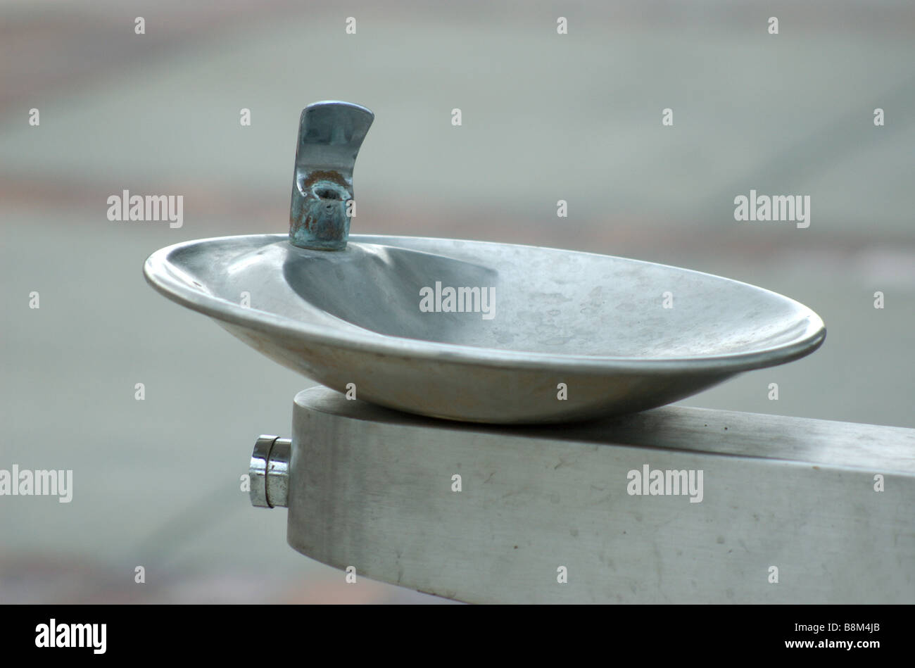 A public water fountain - Stock Image