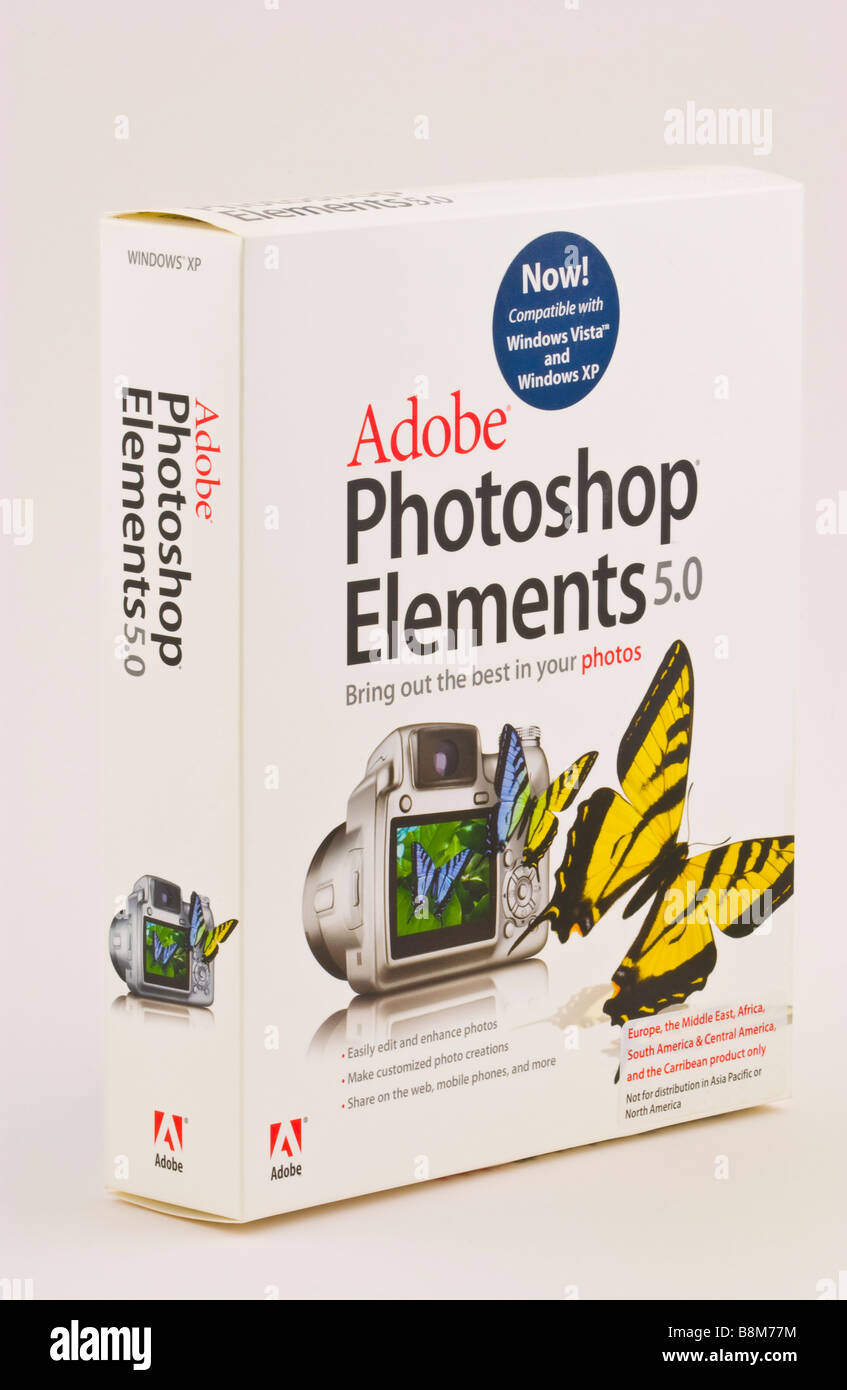 Adobe Photoshop Elements digital image management software