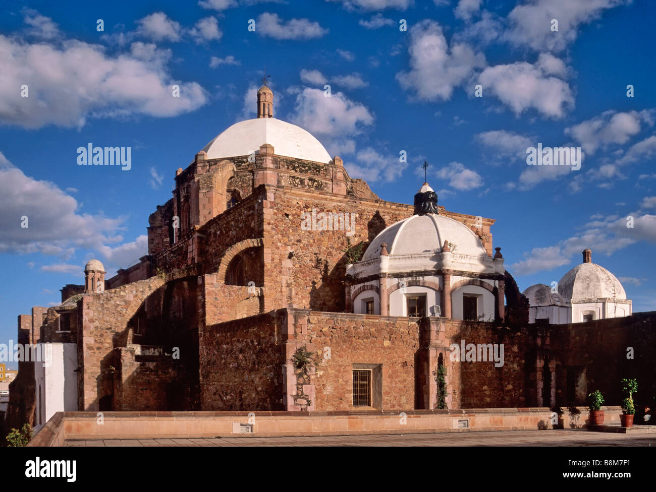San Augustin Church in Zacatecas Mexico - Stock Image