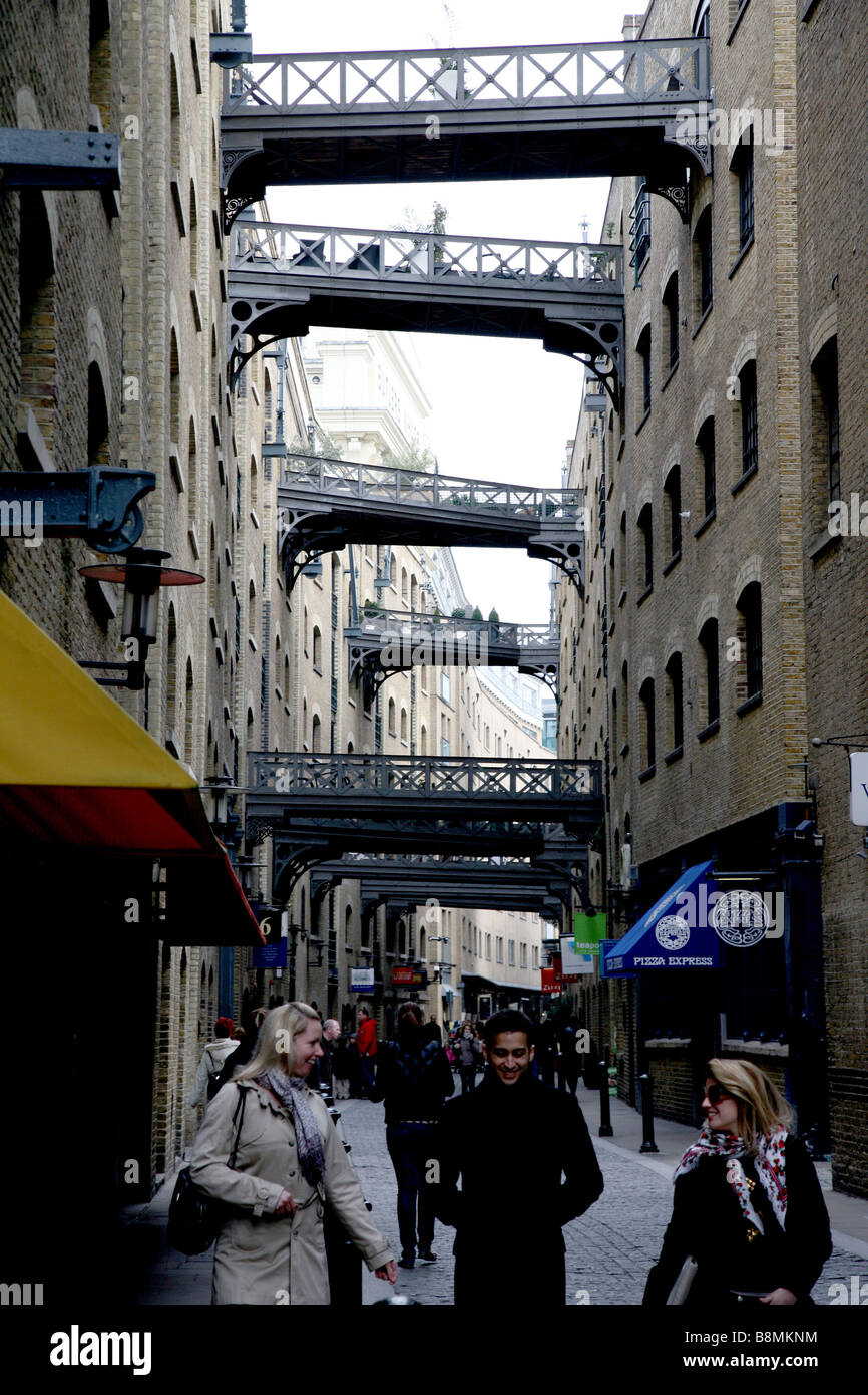 Shad Thames, London - Stock Image