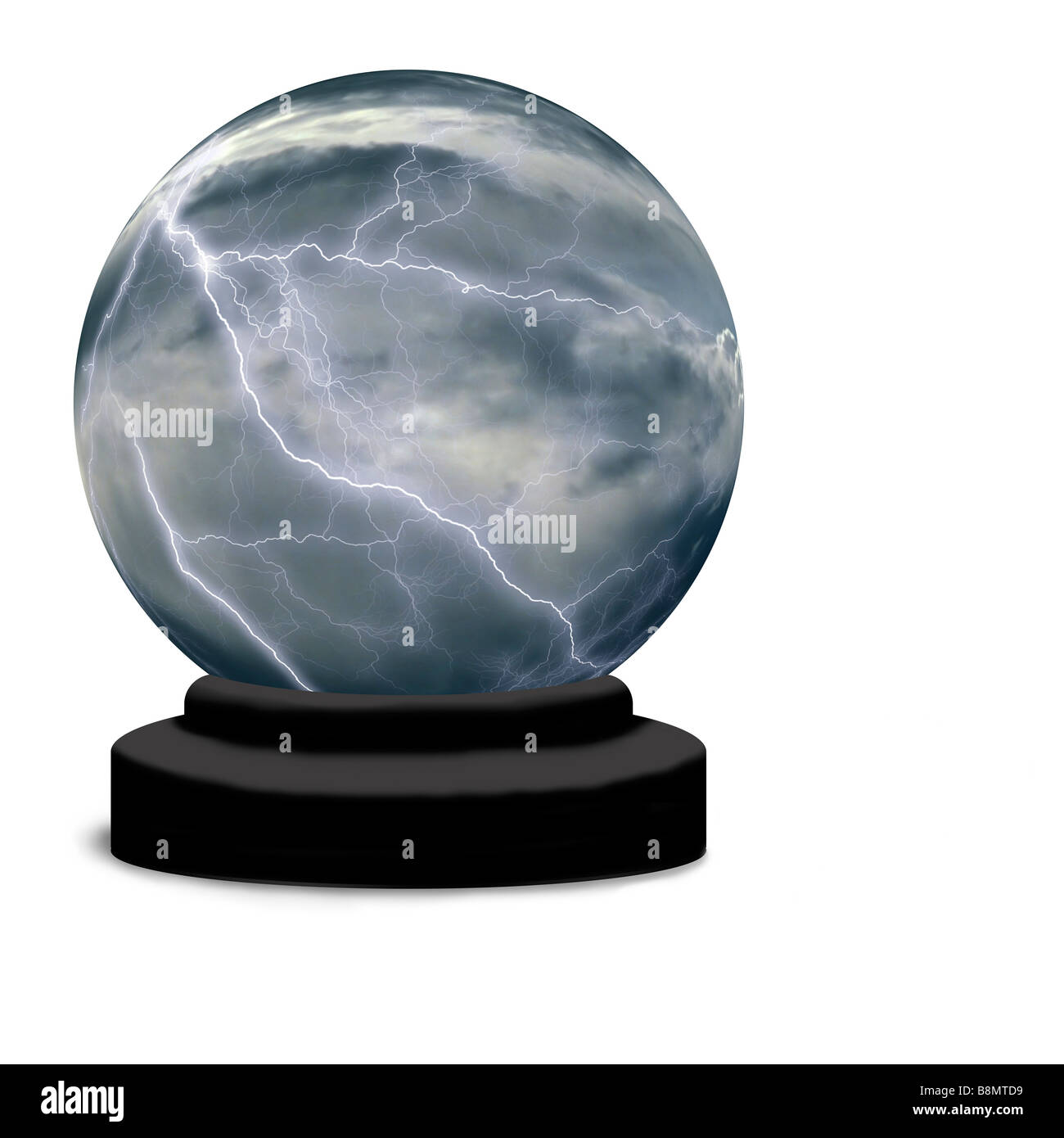 Thunder Clouds Cut Out Stock Images & Pictures - Alamy