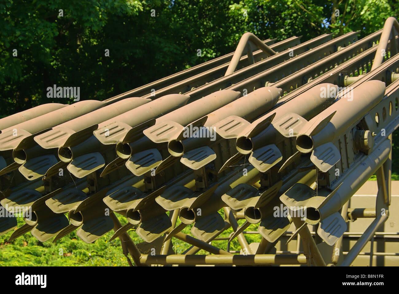 Katjuscha Katyusha rocket launcher 01 - Stock Image