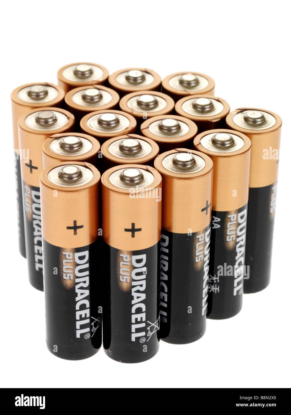 Batteries - Stock Image