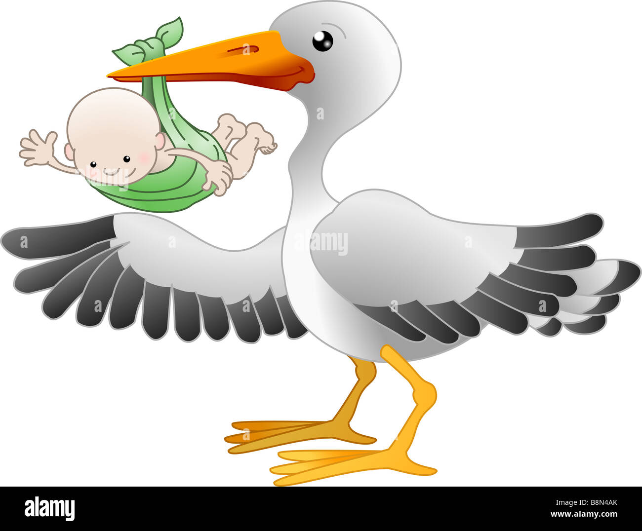 stork carrying a baby stock photos amp stork carrying a baby