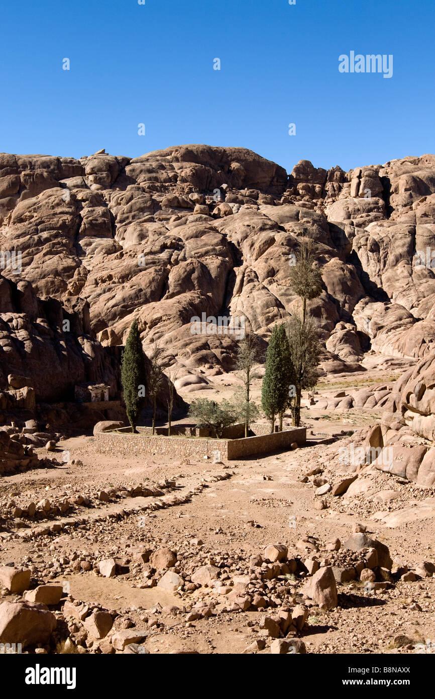 mount Sinai 'the mount of God', Egypt - Stock Image