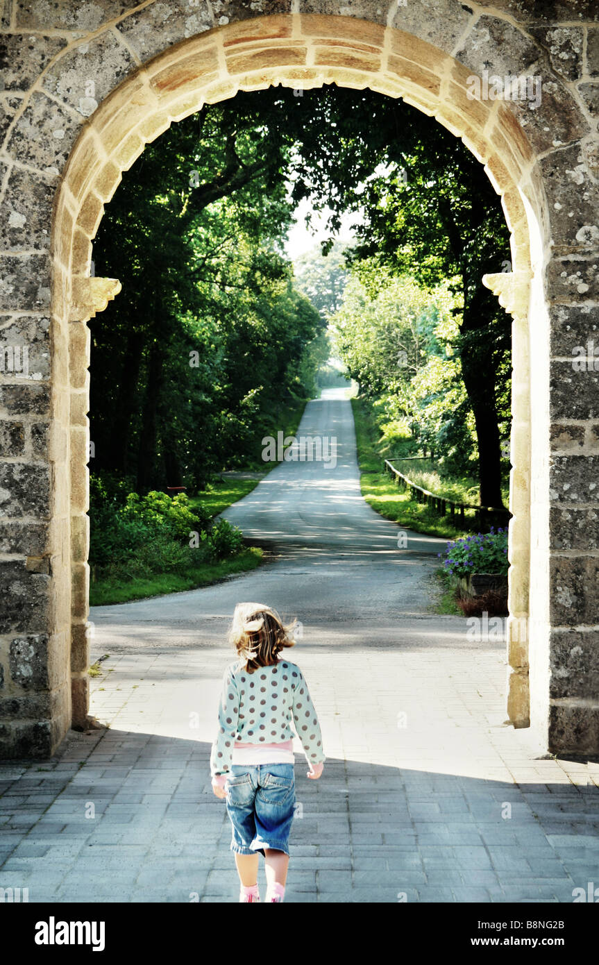 archway - Stock Image