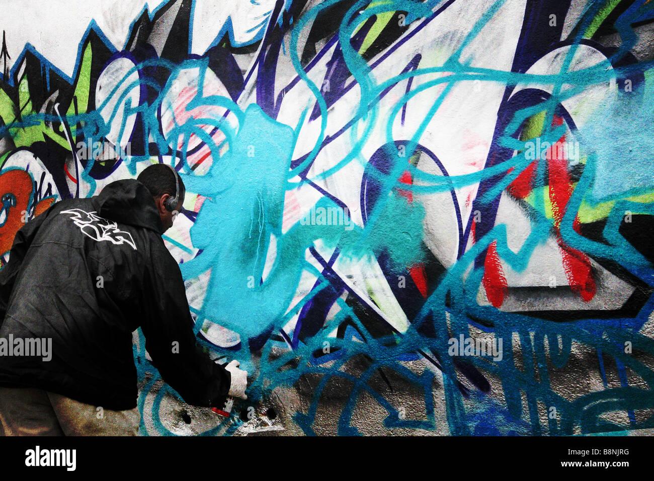 graffitti - Stock Image