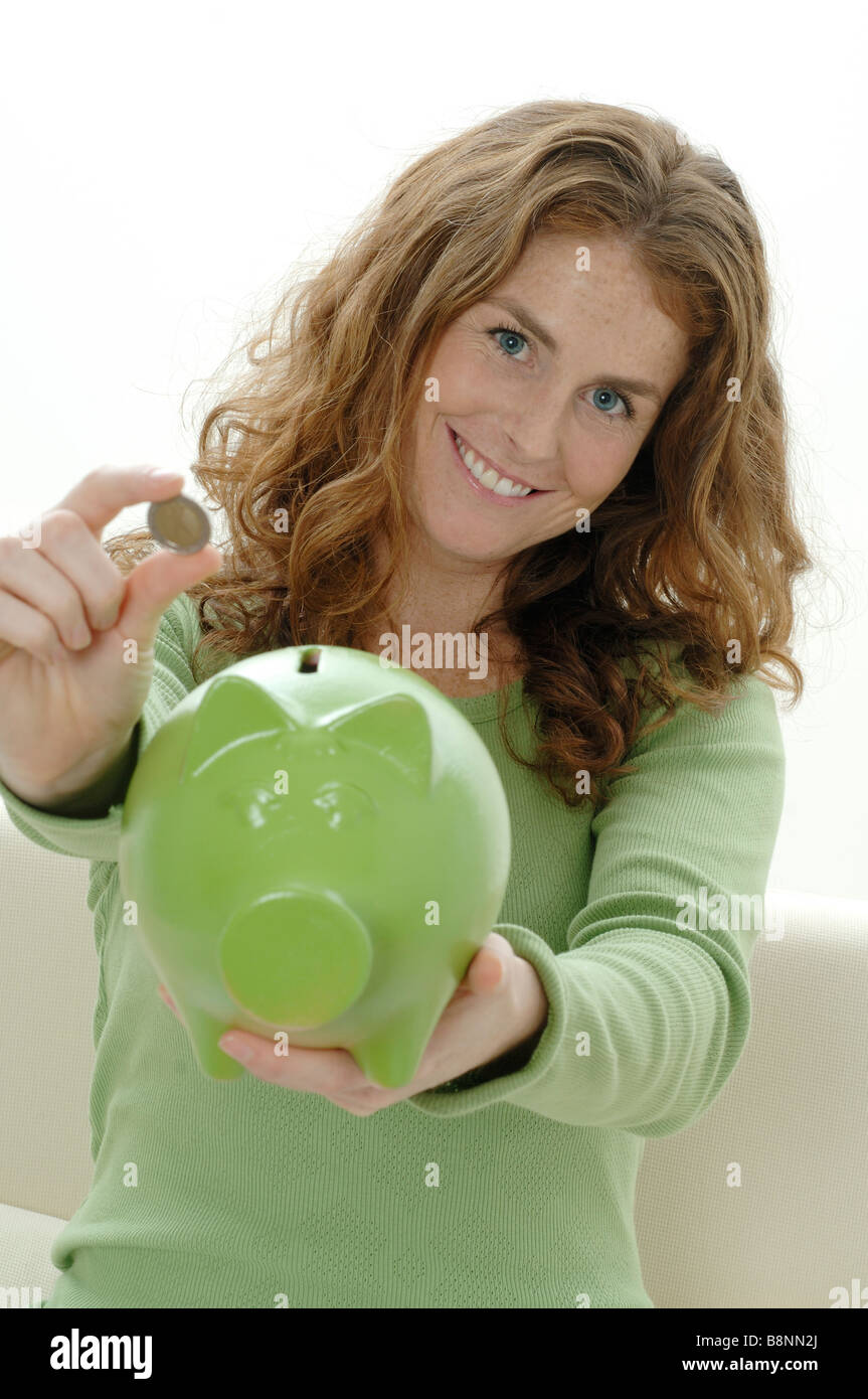 Saving money - Stock Image