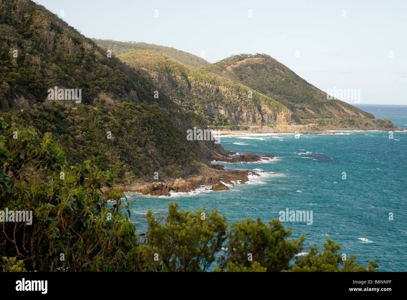 Cape Defiance on the Great Ocean Road , Australia - Stock Image