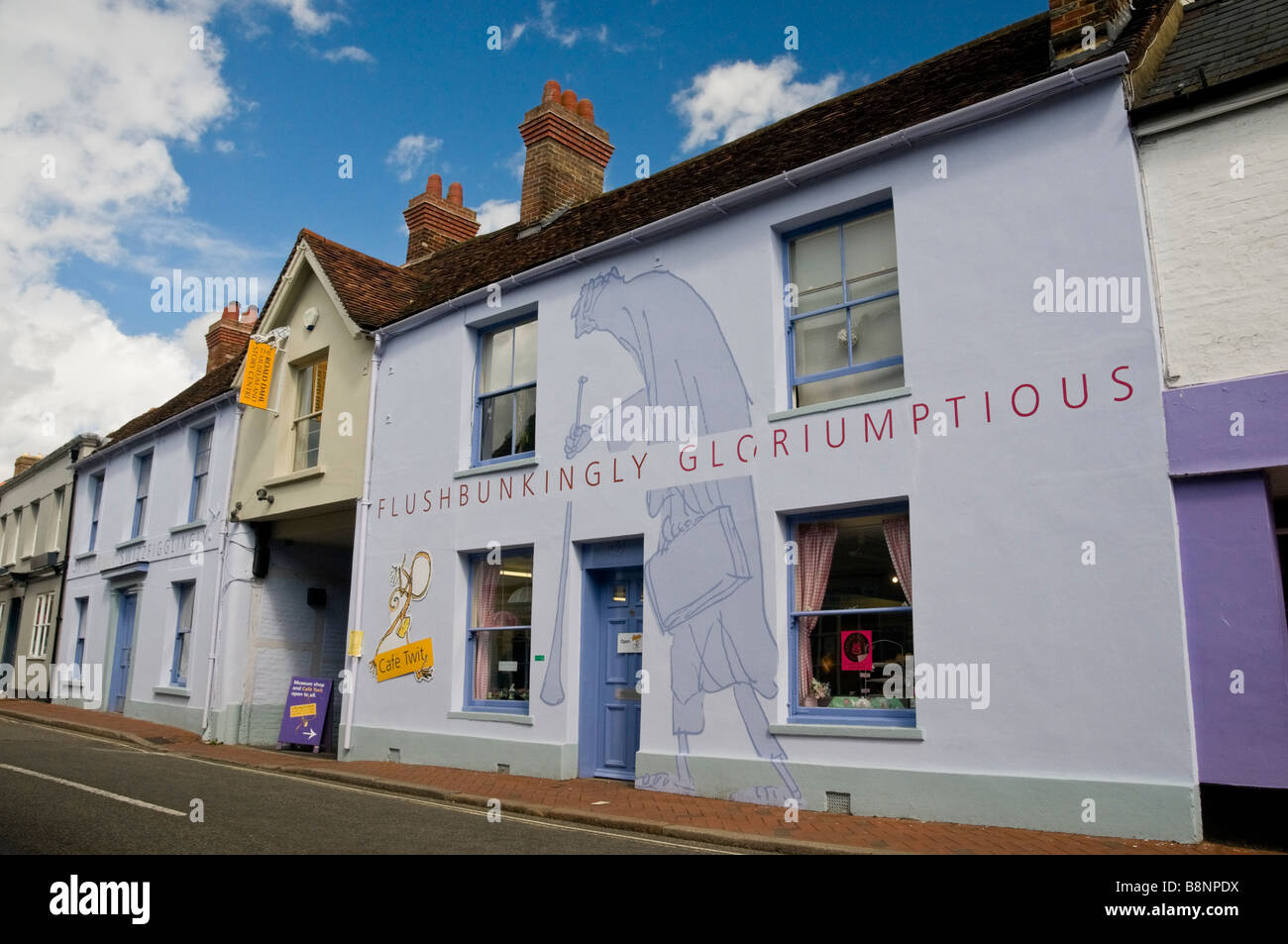 Roald Dahi Museum & Story Centre in the town of Great Missenden - Stock Image