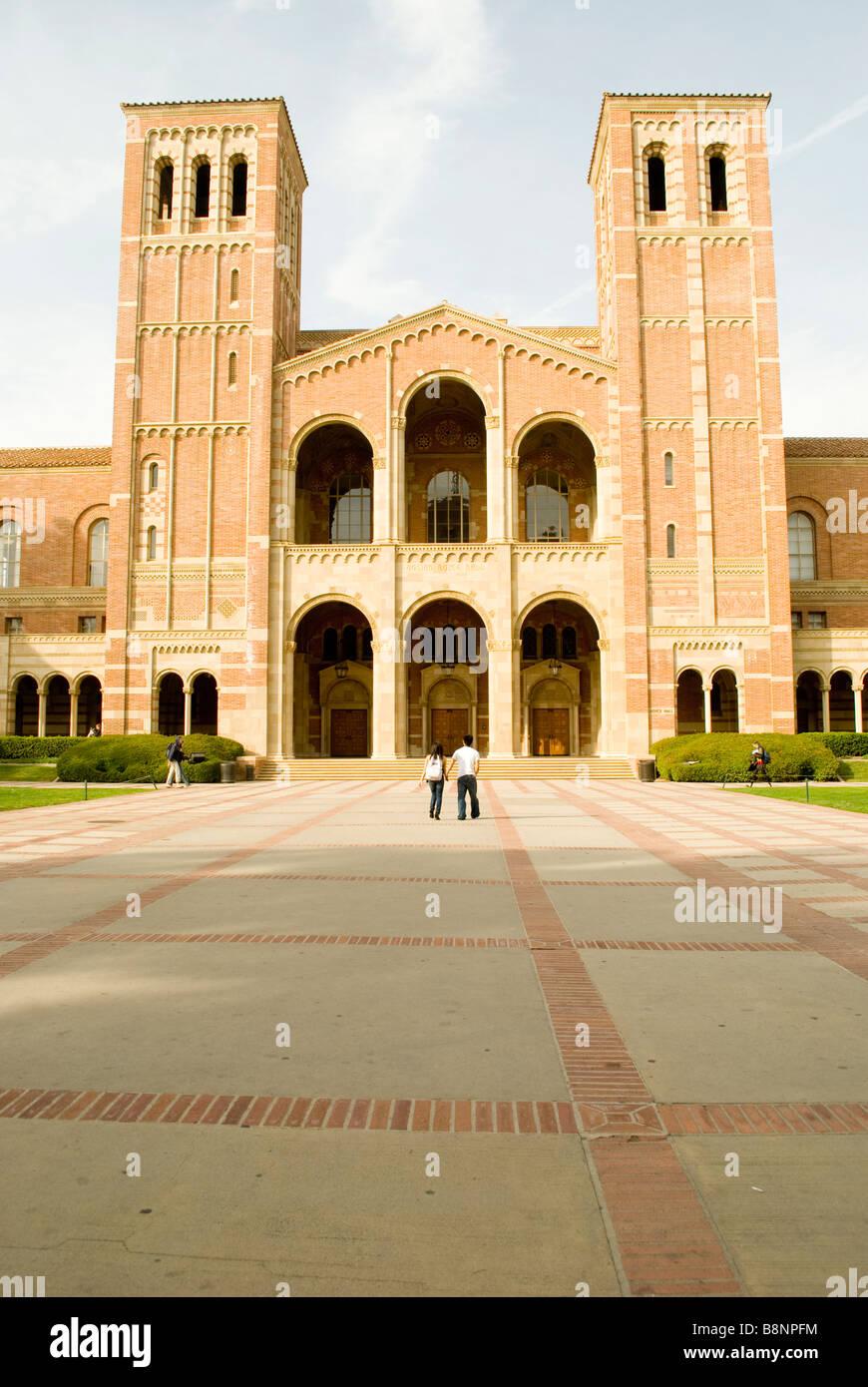 Royce Hall, UCLA - Stock Image