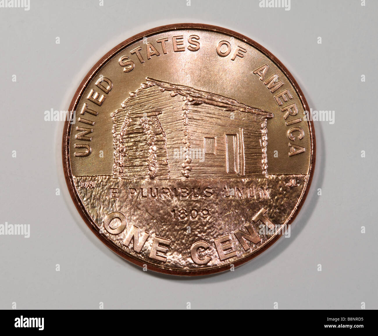 Abraham Lincoln 2009 Bicentennial Penny - Stock Image