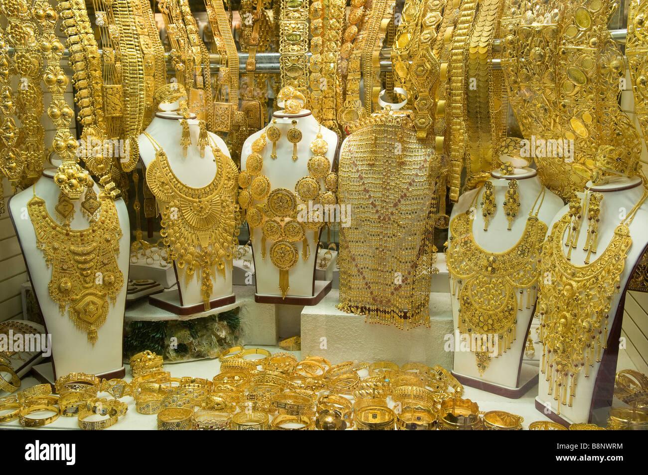 gold souk, dubai, uae - Stock Image