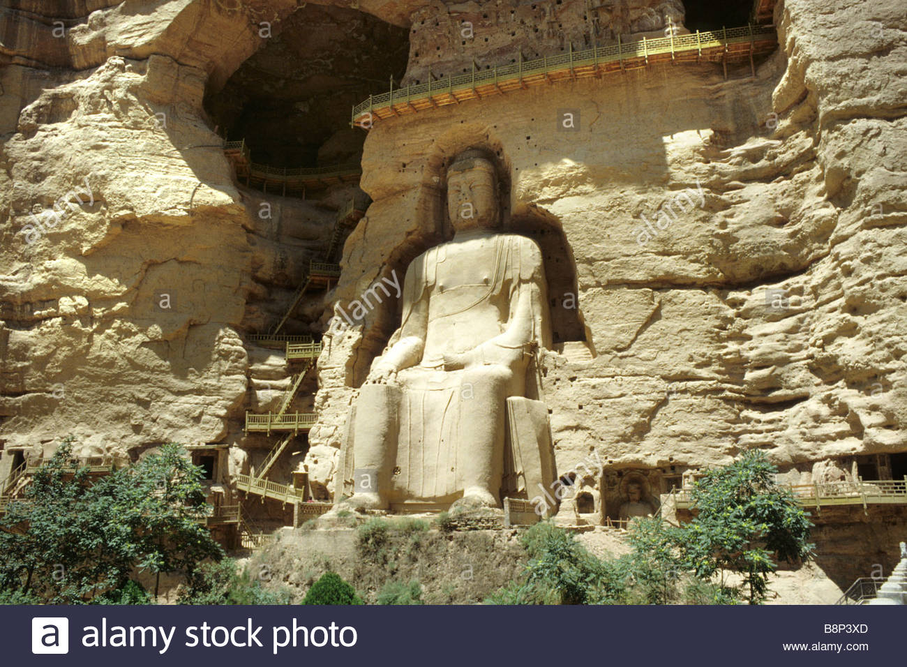 longmen grottoes, henan, china, asia - Stock Image