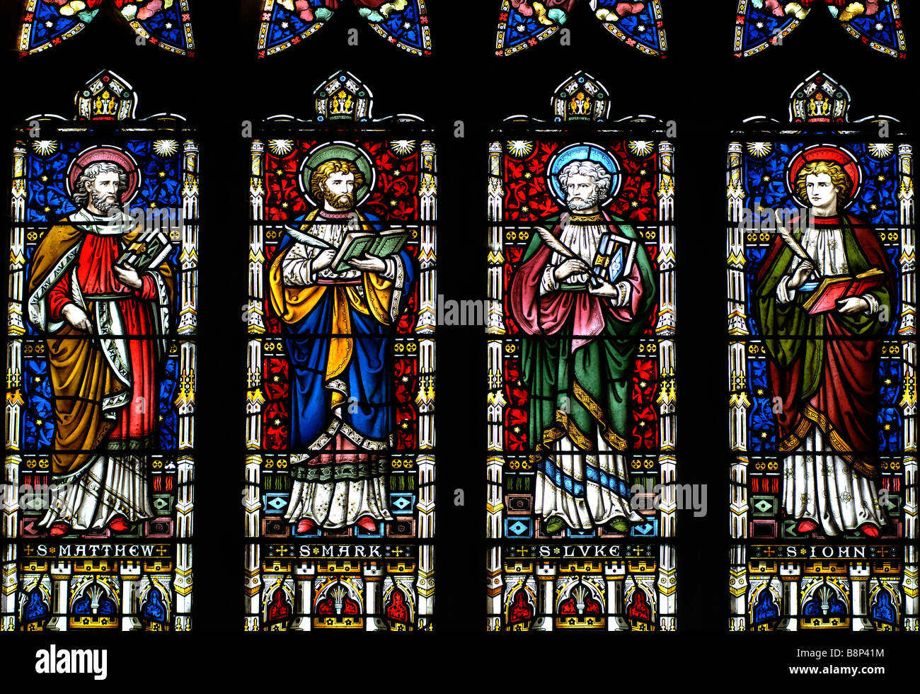 The Apostles Stained Glass In All Saints Church, Braunston