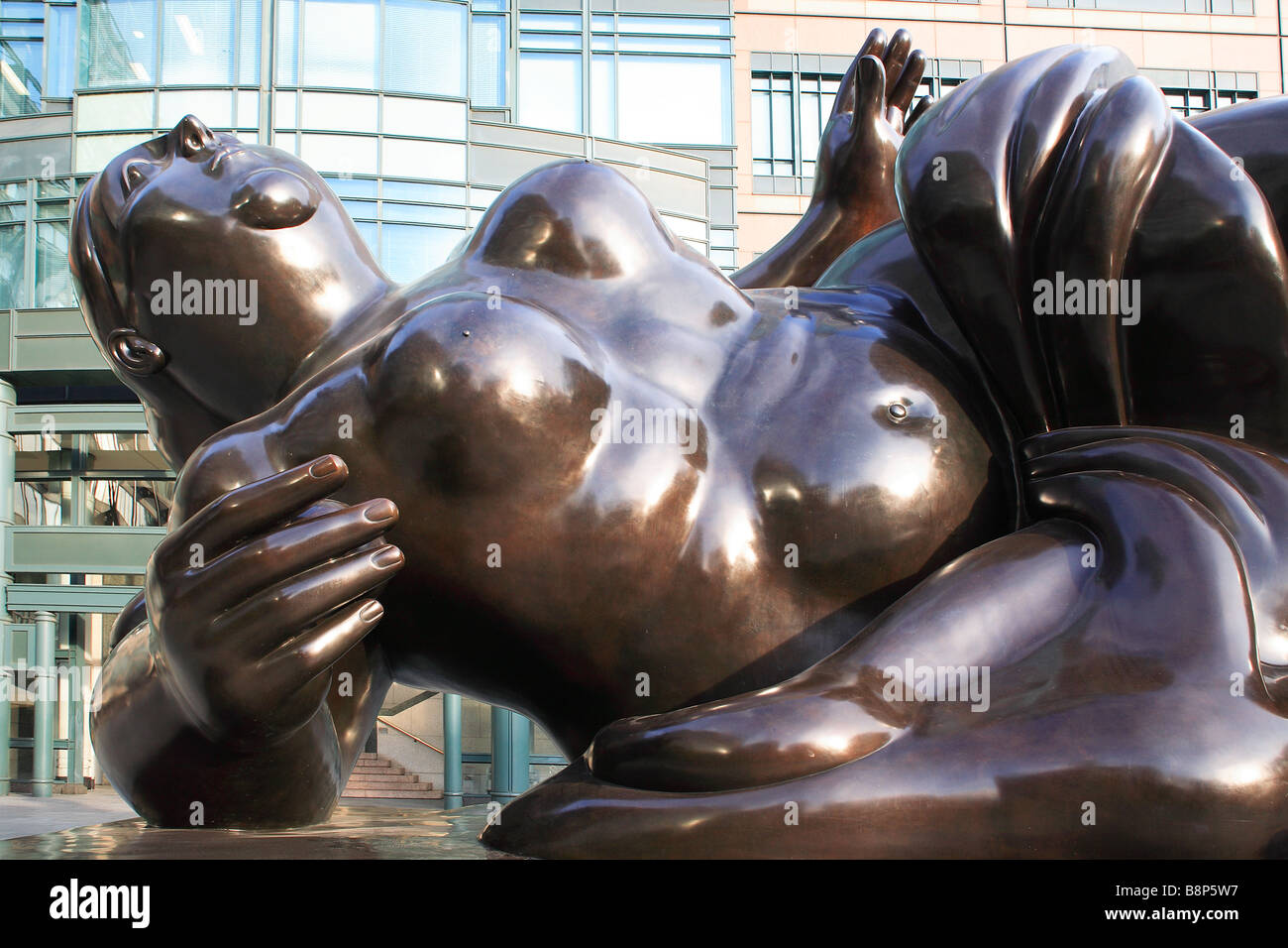 The Broadgate Venus, behind Liverpool Street Station, City of London, UK - Stock Image