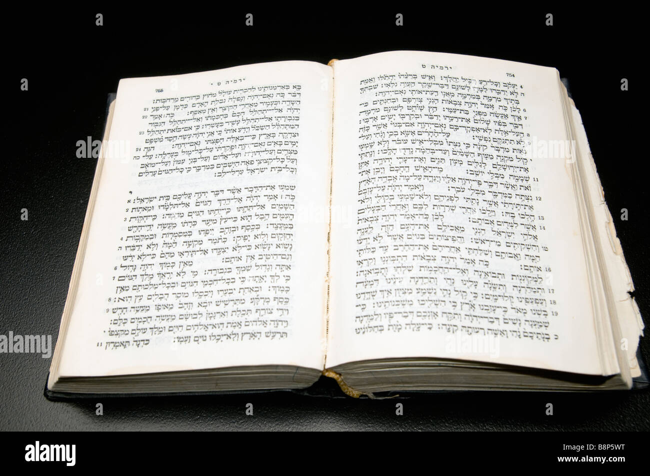 The Holy Bible Old Testament - Stock Image