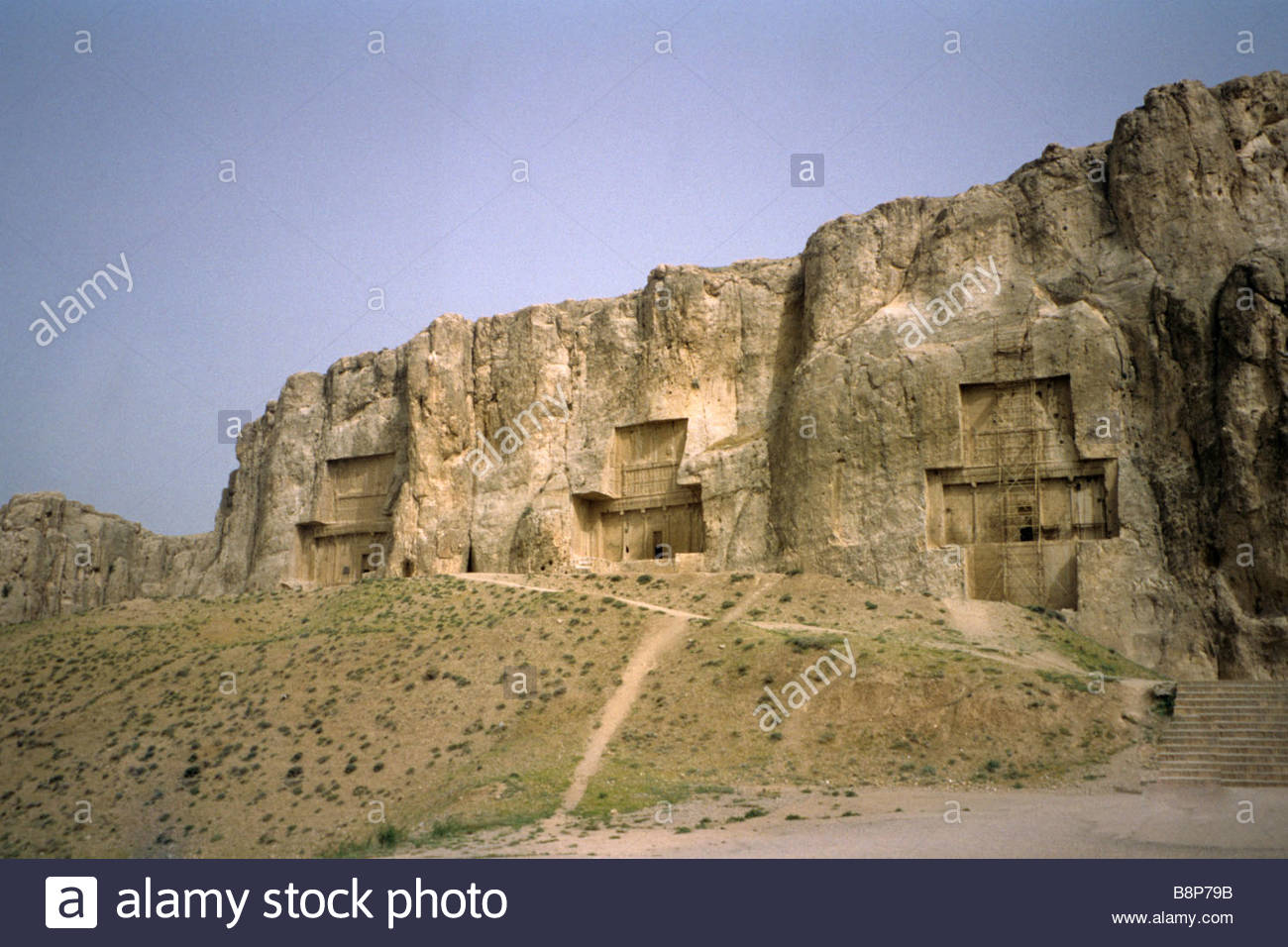 the archeological site of persepolis, iran - Stock Image