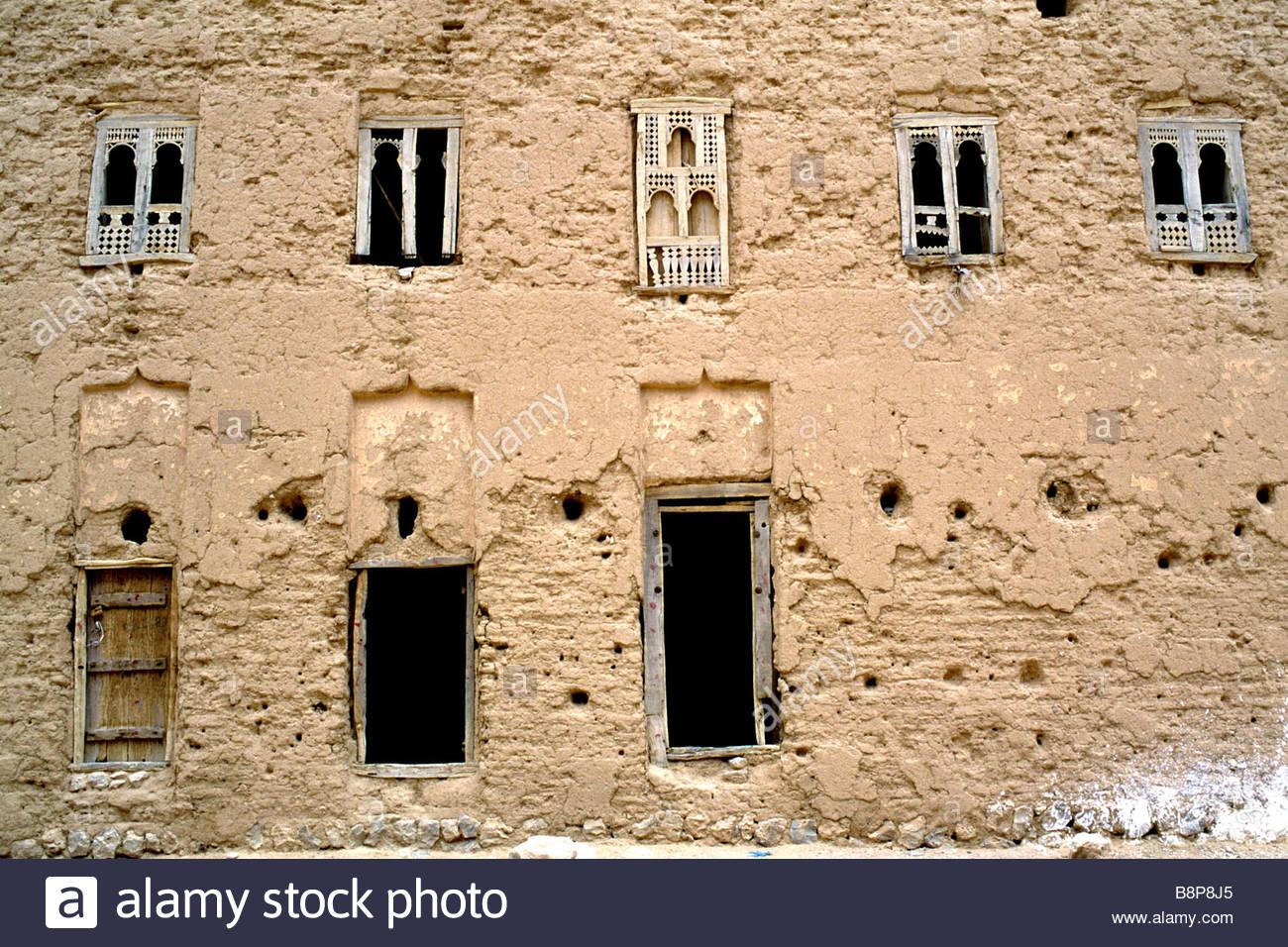 windows, yemen, arabian peninsula - Stock Image