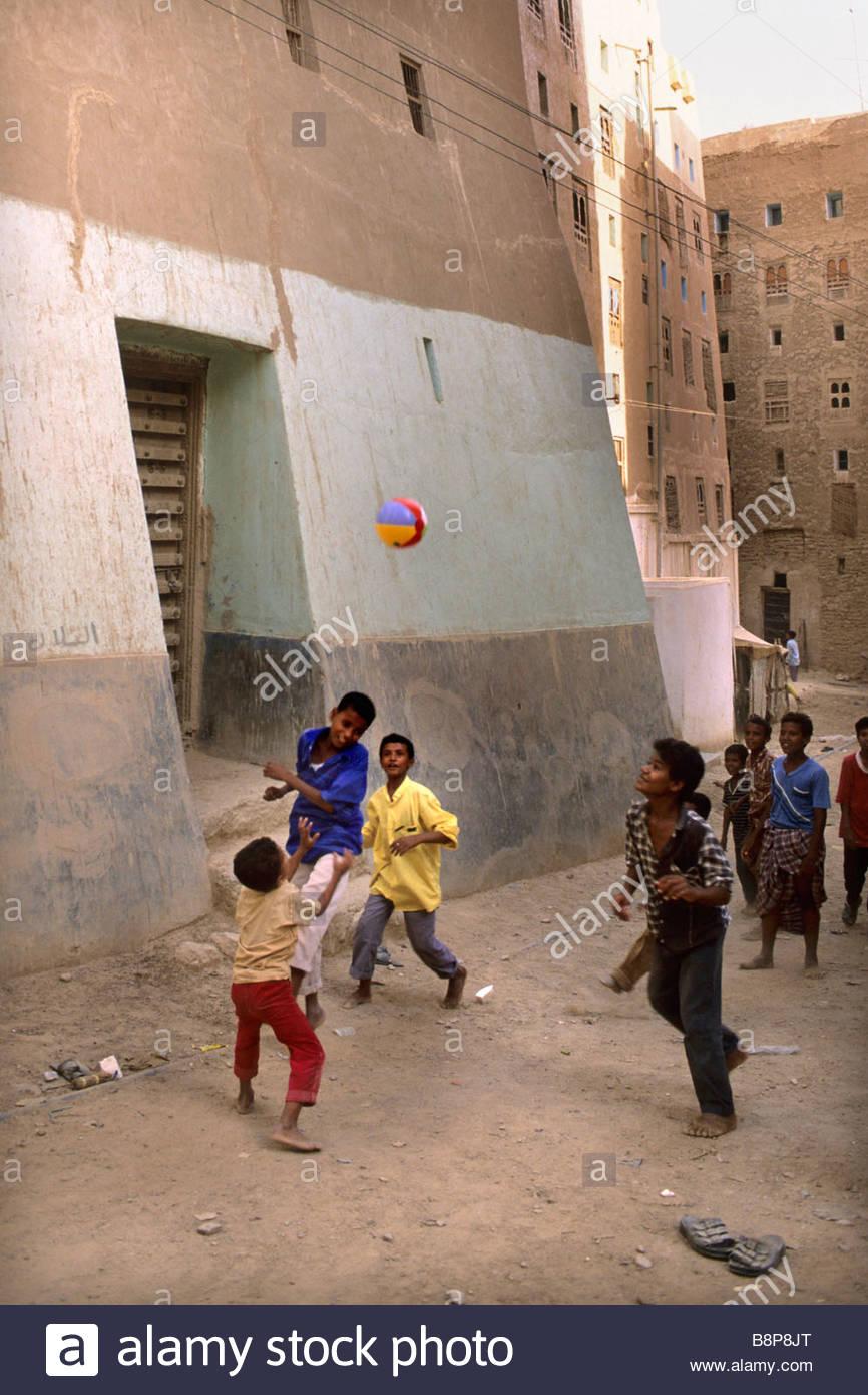 shibam, yemen, hadramawt, yemen, arabian peninsula - Stock Image